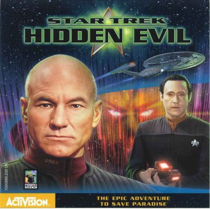 Star Trek: Hidden Evil Windows Other Jewel Case - Front