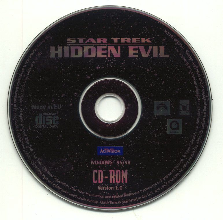 Star Trek: Hidden Evil Windows Media