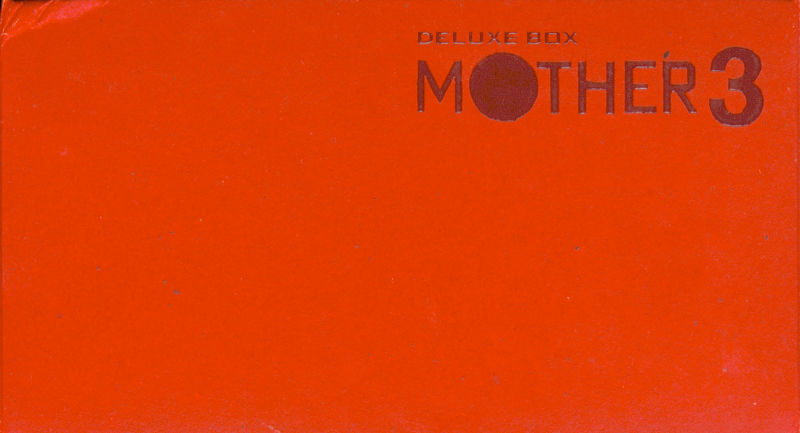 Mother 3 Deluxe Box Game Boy Advance Front Cover