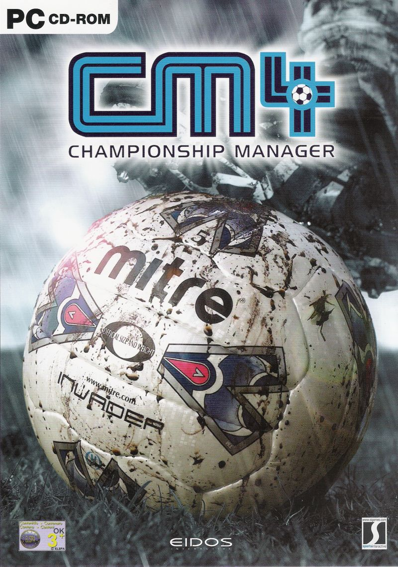 Championship Manager 4 Windows Front Cover