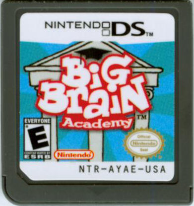 Big Brain Academy Nintendo DS Media