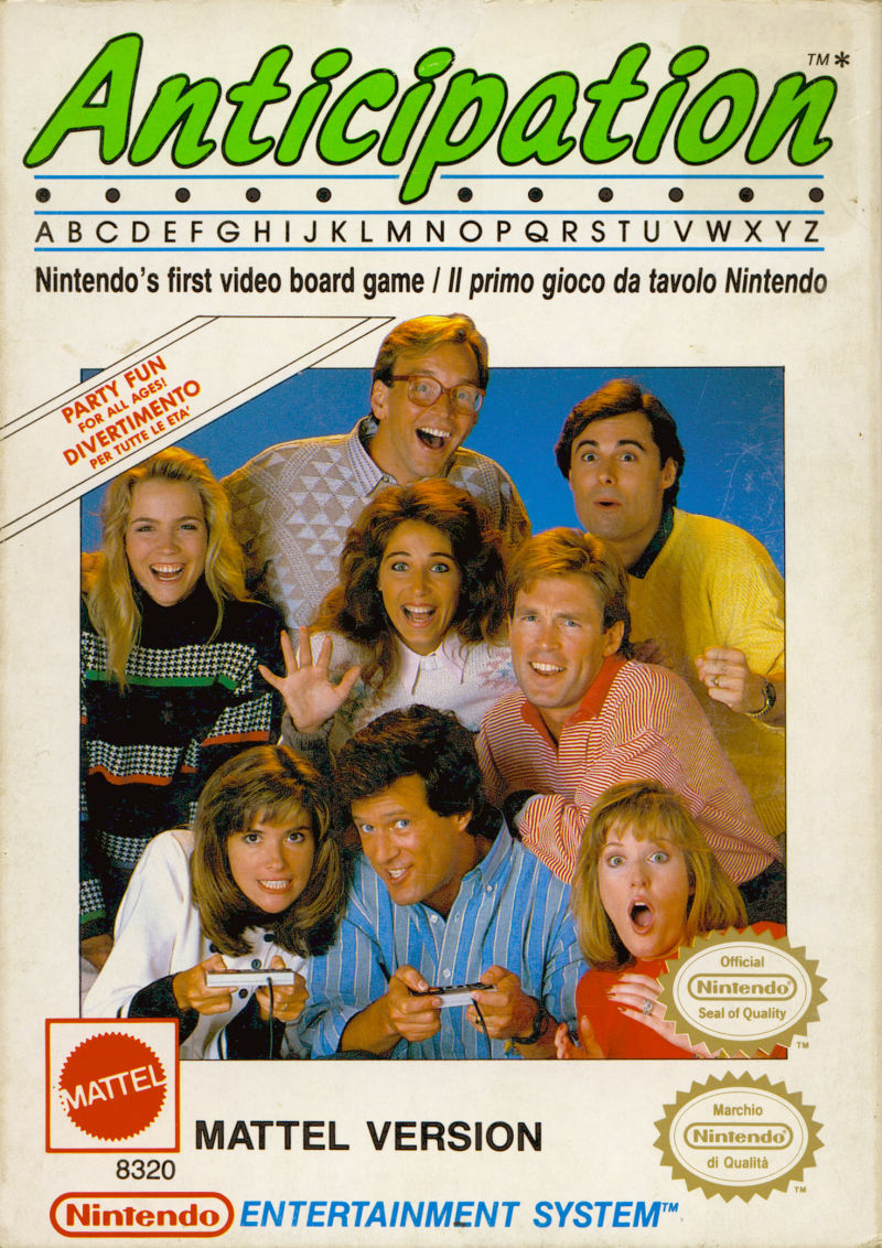 Anticipation NES Front Cover