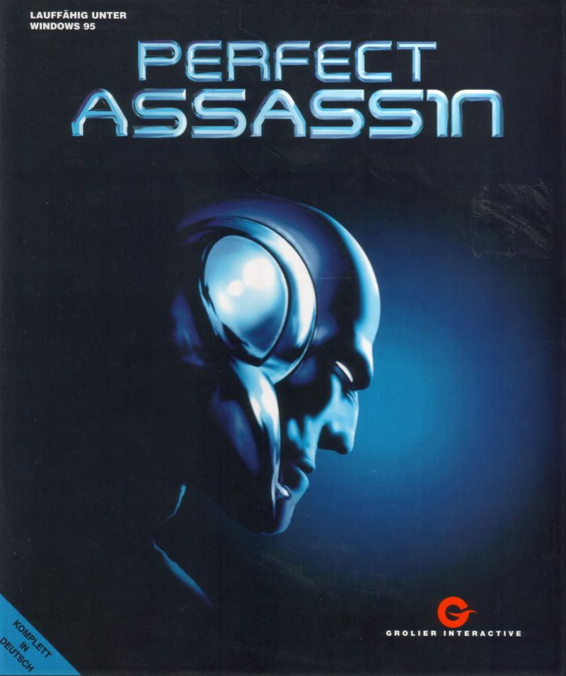 Perfect Assassin DOS Front Cover