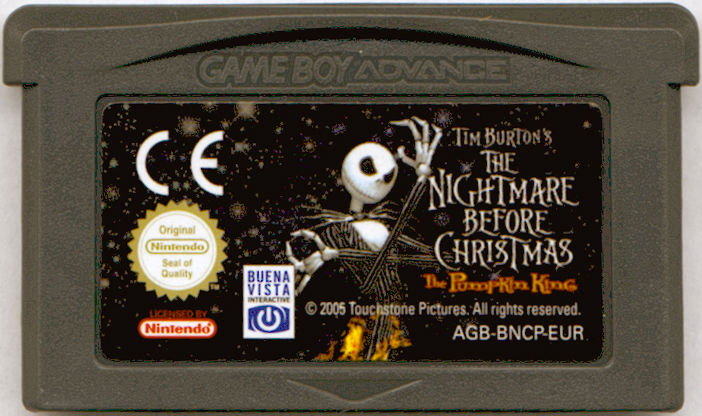 Tim Burton's The Nightmare Before Christmas: The Pumpkin King Game Boy ...