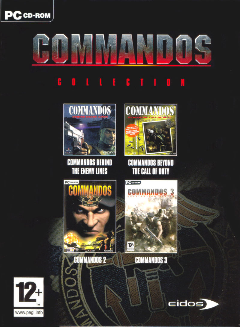 Commandos Collection Windows Front Cover