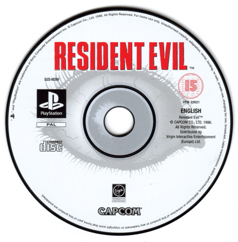 Resident Evil PlayStation Media