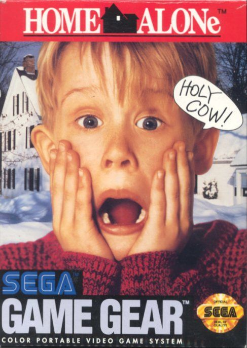 Home Alone Game Gear Front Cover