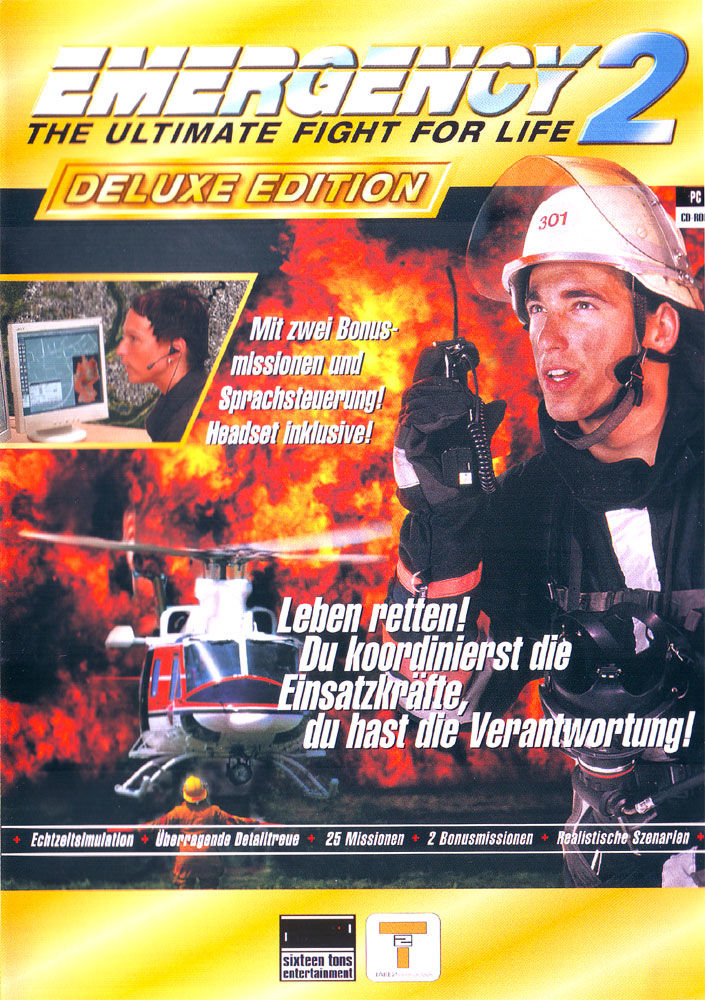 Emergency 2: The Ultimate Fight for Life (Deluxe Edition) Windows Front Cover