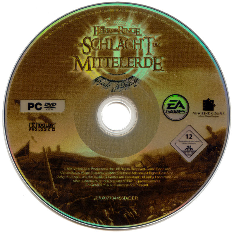 The Lord of the Rings: The Battle for Middle-Earth (Limited Edition) Windows Media Game Disc