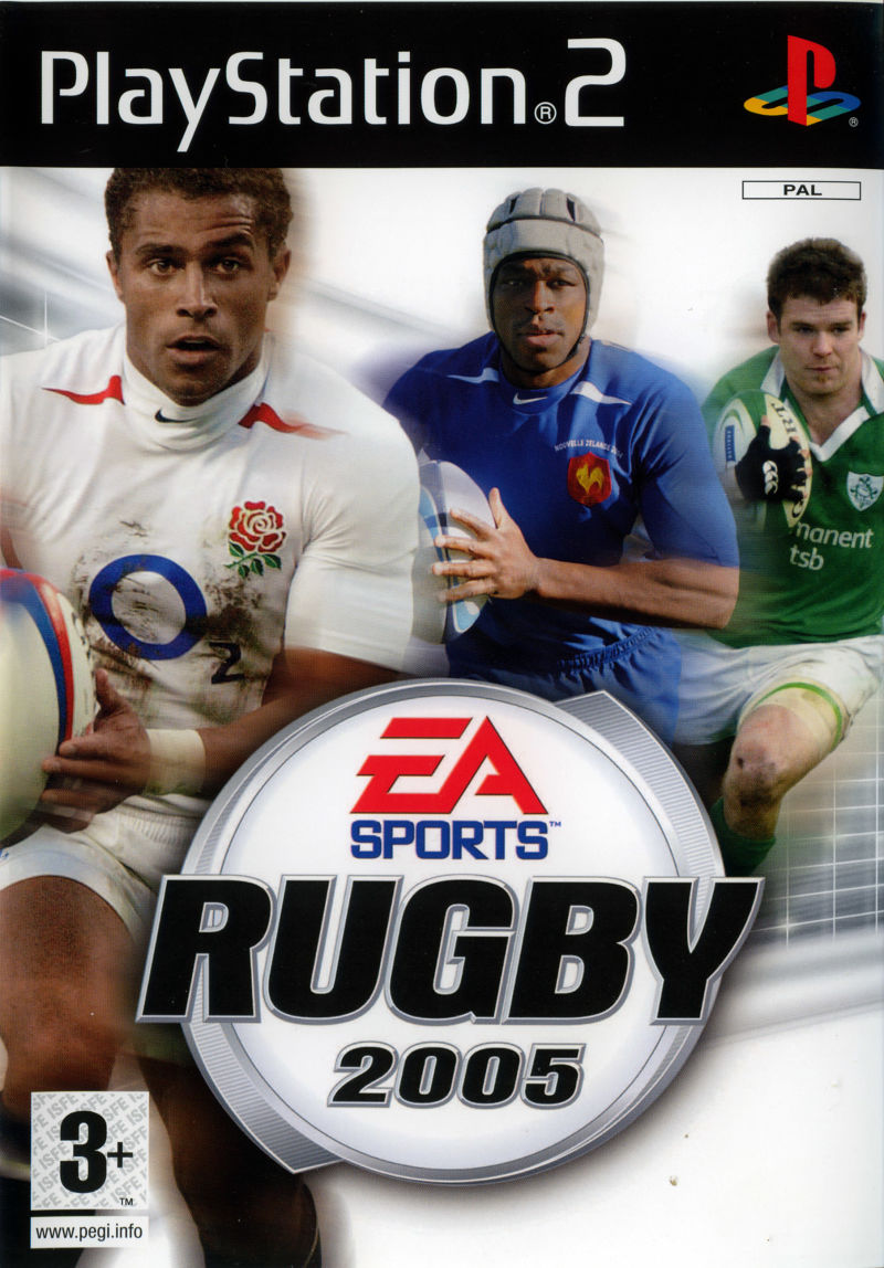 Rugby 2005 PlayStation 2 Front Cover