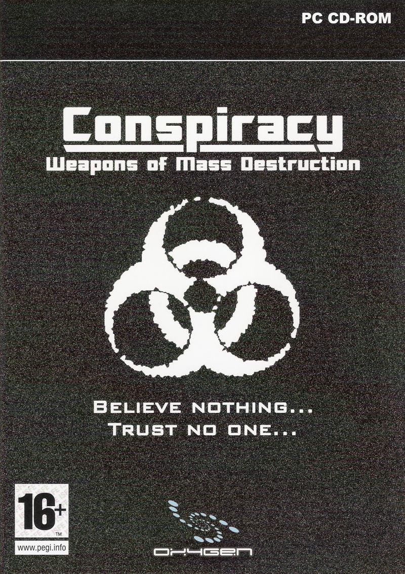 Conspiracy: Weapons of Mass Destruction Windows Front Cover