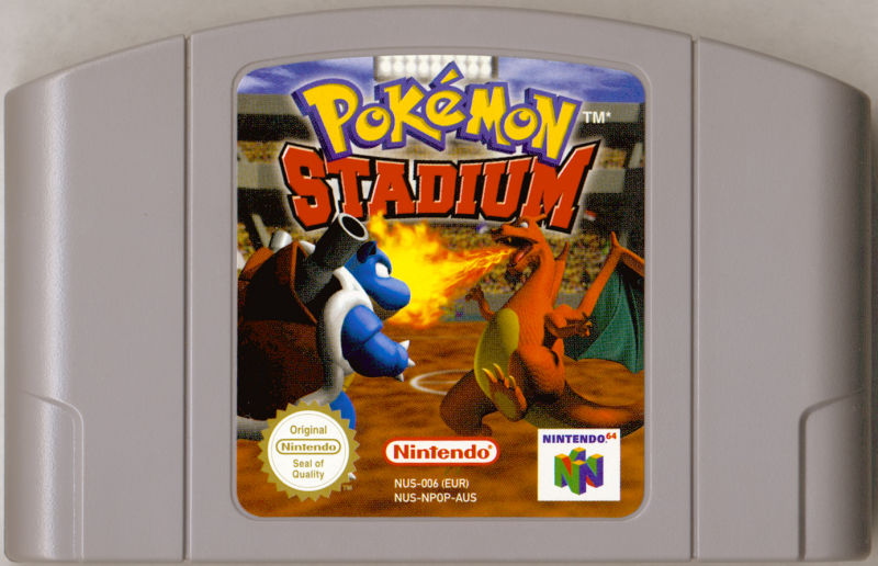 Pokémon Stadium Nintendo 64 Media
