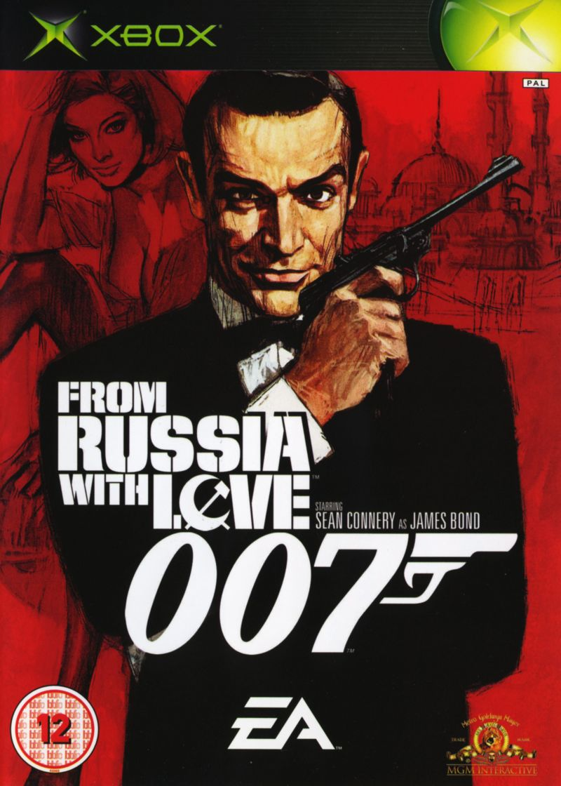 From Russia with Love Xbox Front Cover