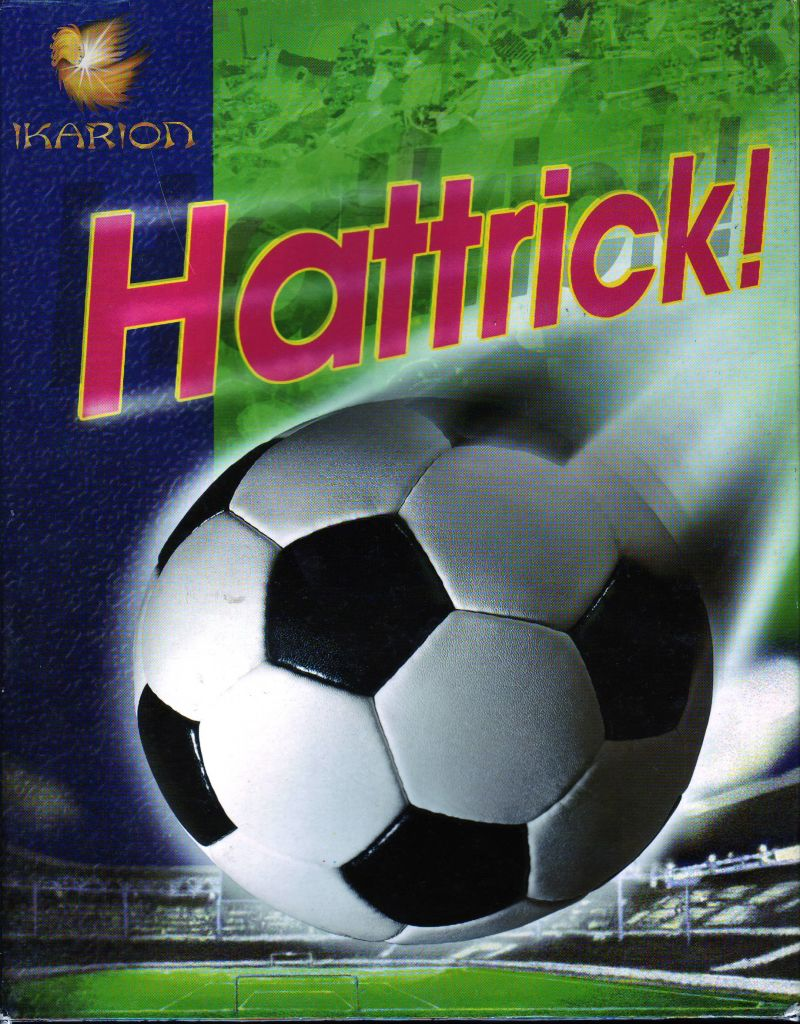 Hattrick! DOS Front Cover