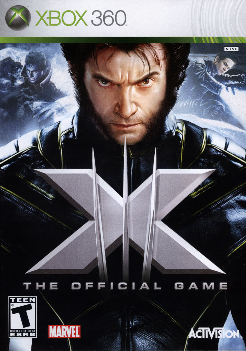 X-Men: The Official Game (2006) Xbox 360 box cover art ...Xbox 360 Game Covers