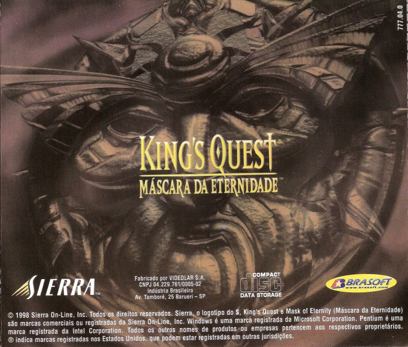 King's Quest: Mask of Eternity Windows Other Jewel Case - Back