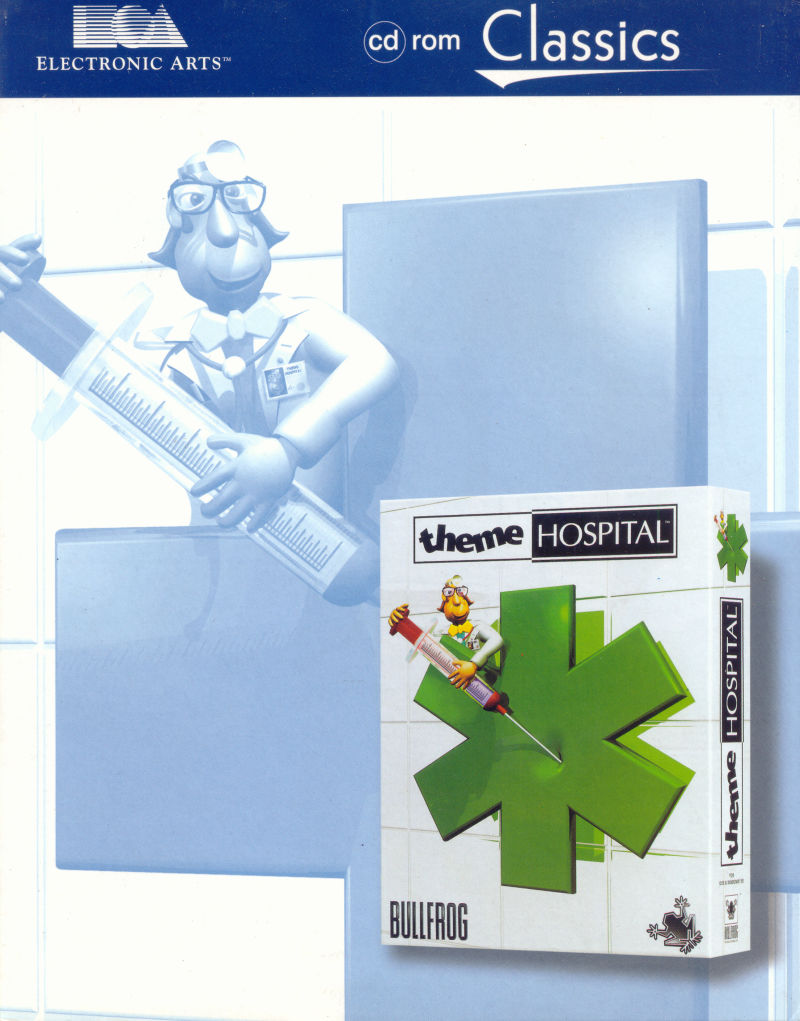 Theme Hospital DOS Front Cover