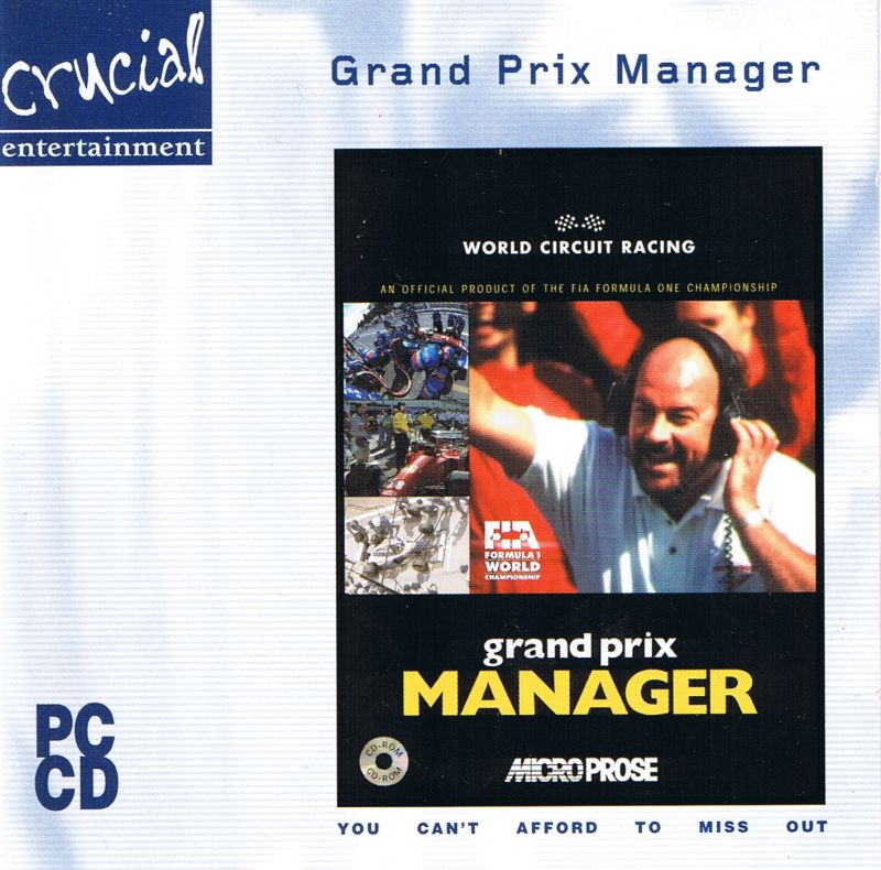Grand Prix Manager Windows Front Cover