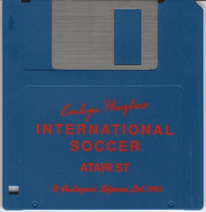Emlyn Hughes International Soccer Atari ST Media