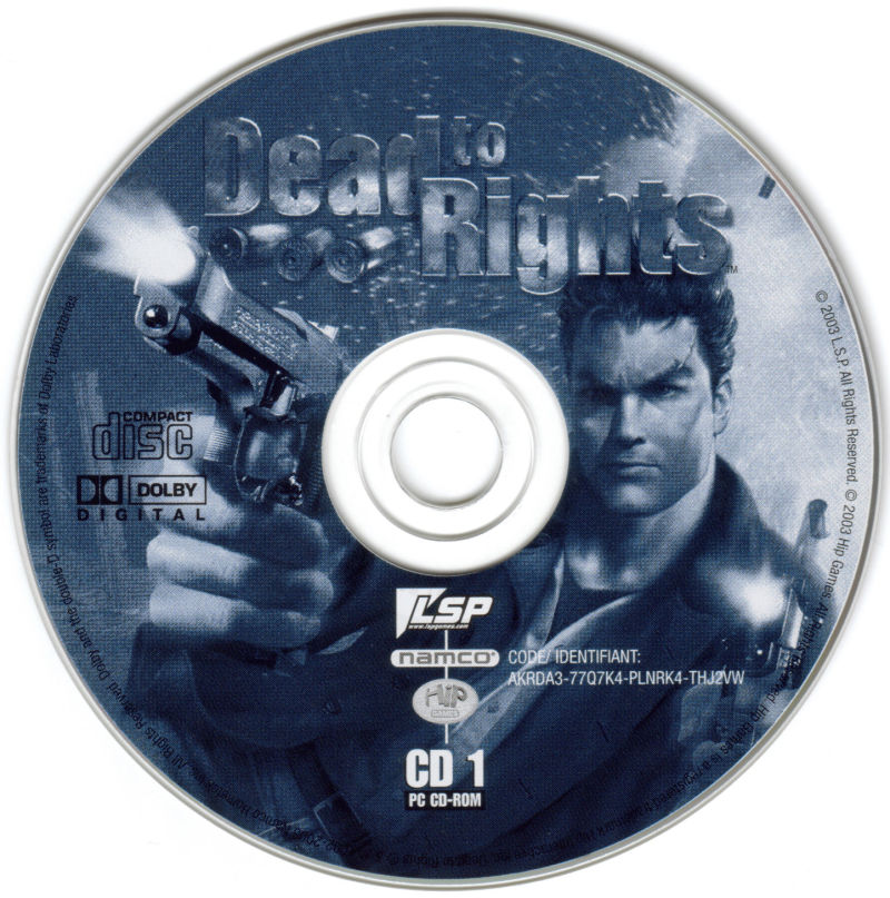 Dead to Rights Windows Media Disc 1/2