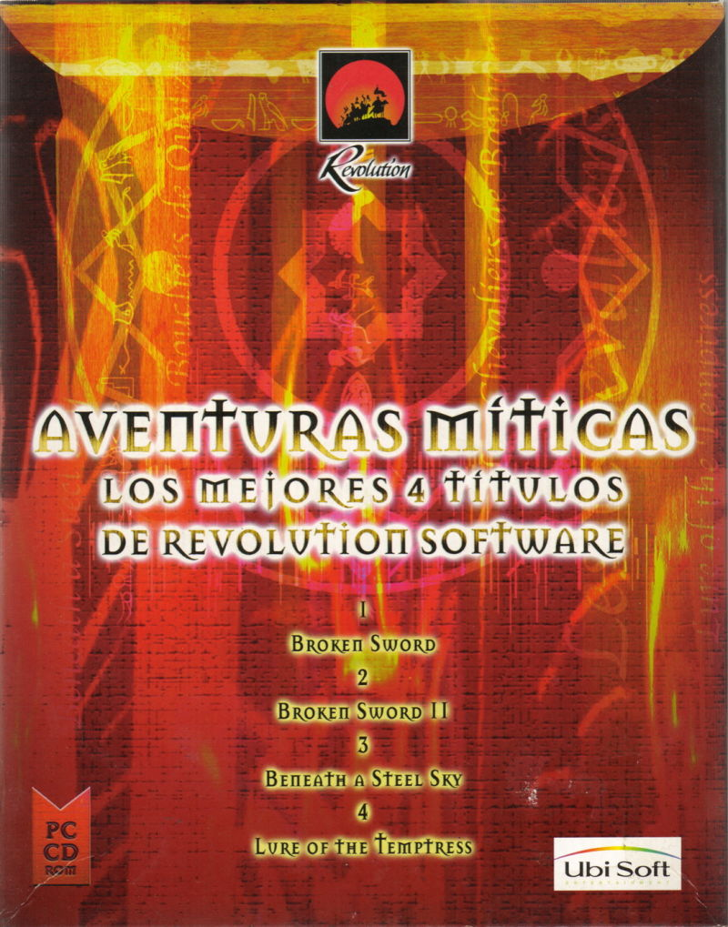 Revolution Classic Adventures DOS Front Cover