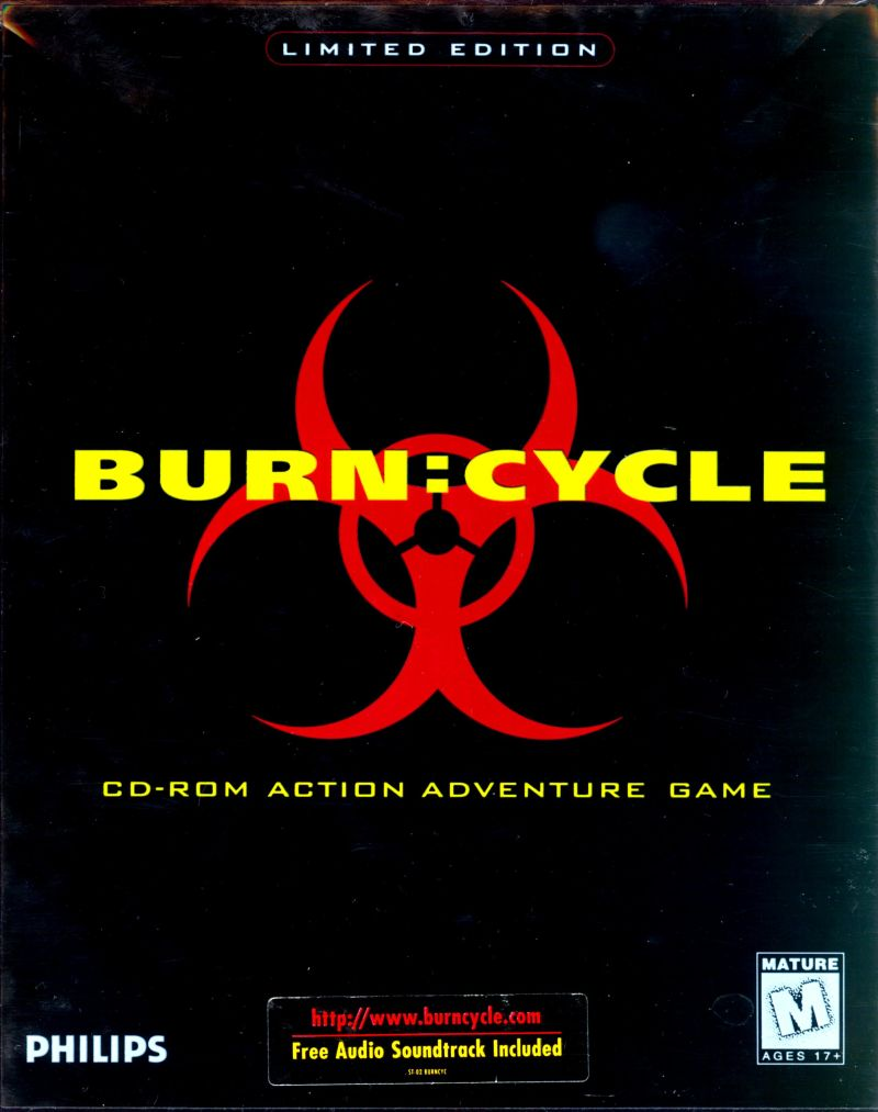 Burn:Cycle Macintosh Front Cover