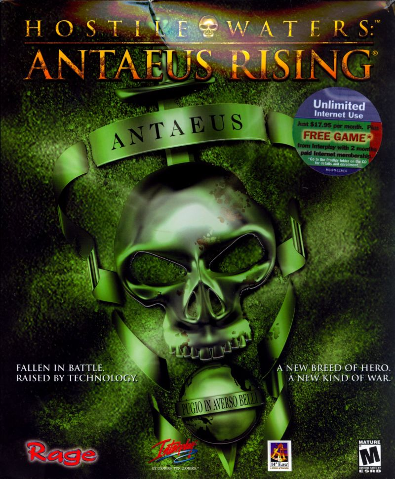 Hostile Waters: Antaeus Rising Windows Front Cover