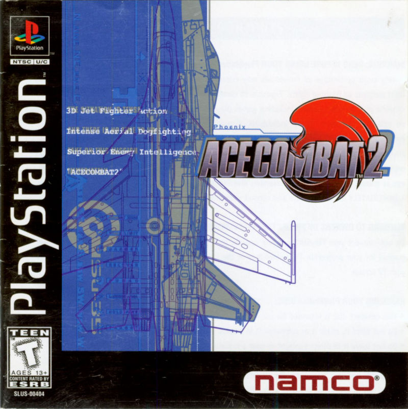 Ace Combat 2 PlayStation Front Cover