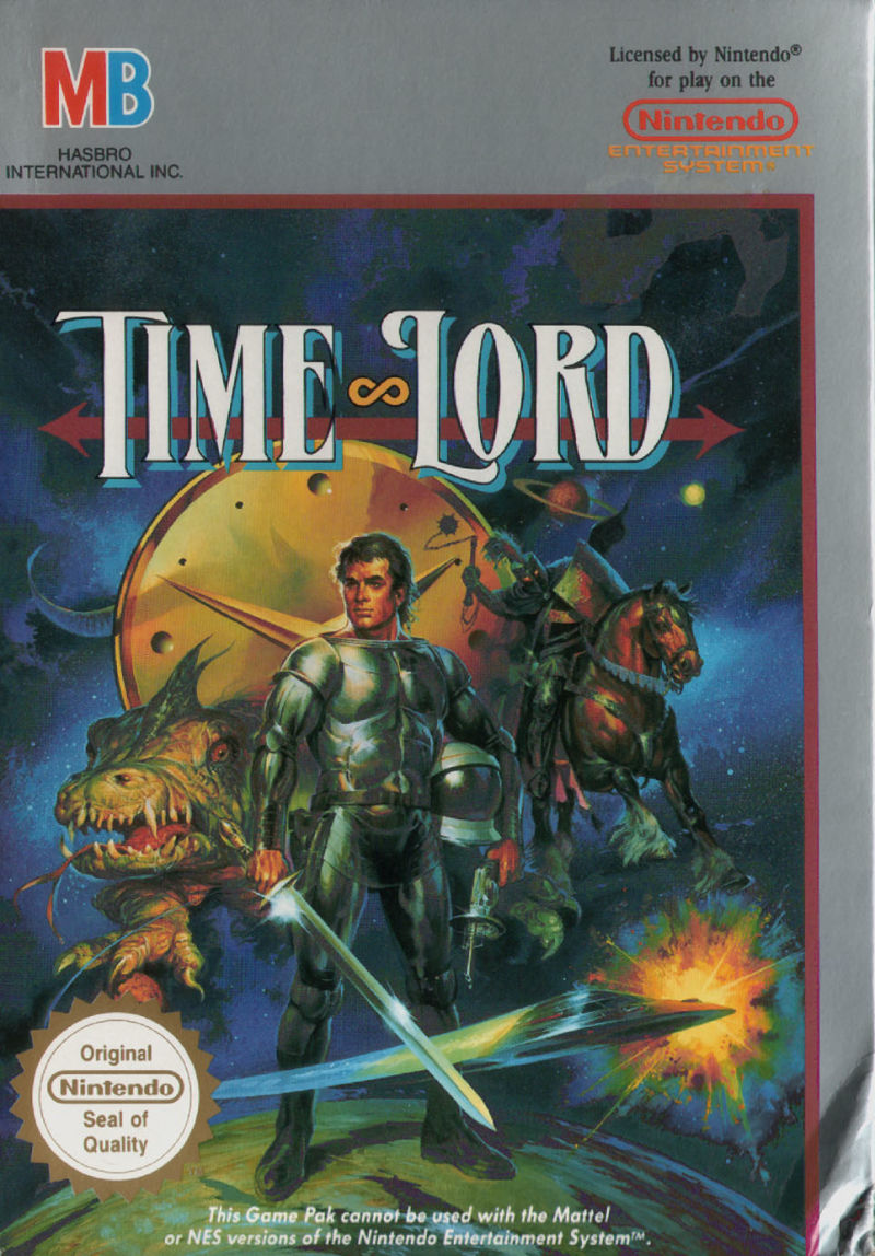 Time Lord NES Front Cover