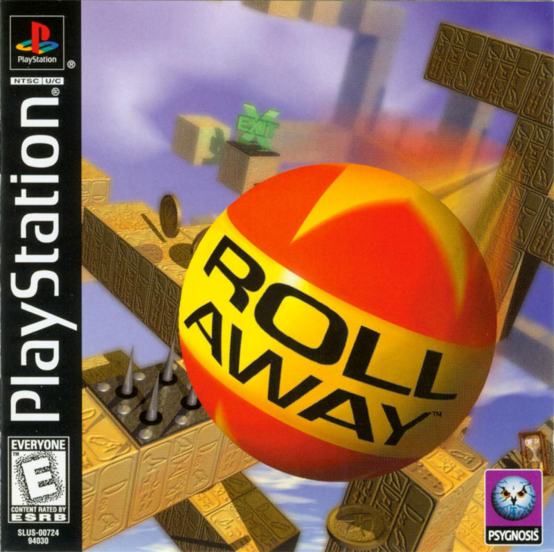 Roll Away PlayStation Front Cover