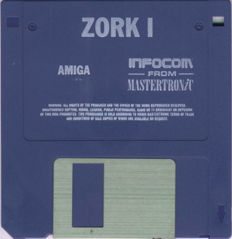 Zork: The Great Underground Empire Amiga Media