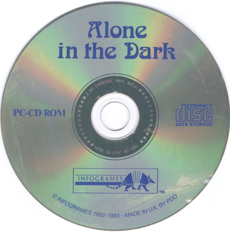 Alone in the Dark DOS Media