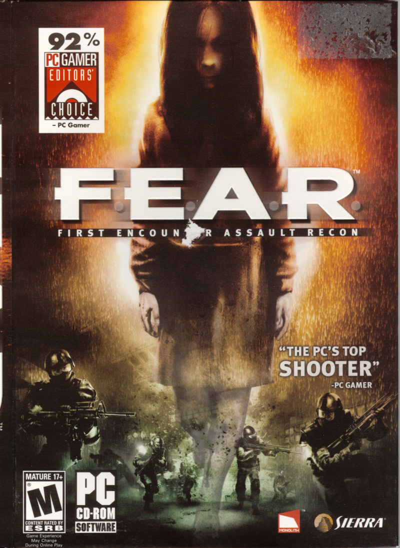 F.E.A.R.: First Encounter Assault Recon Windows Front Cover