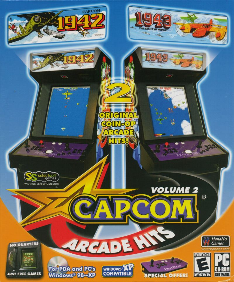 Capcom Arcade Hits Volume 2 Windows Front Cover