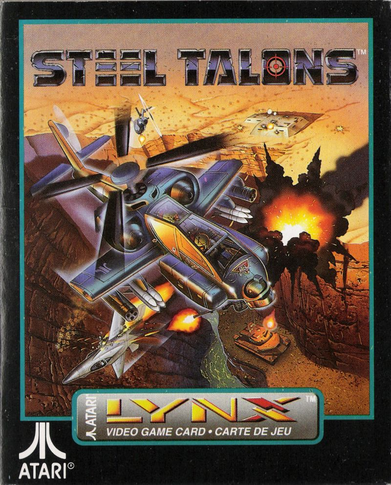 Steel Talons Lynx Front Cover