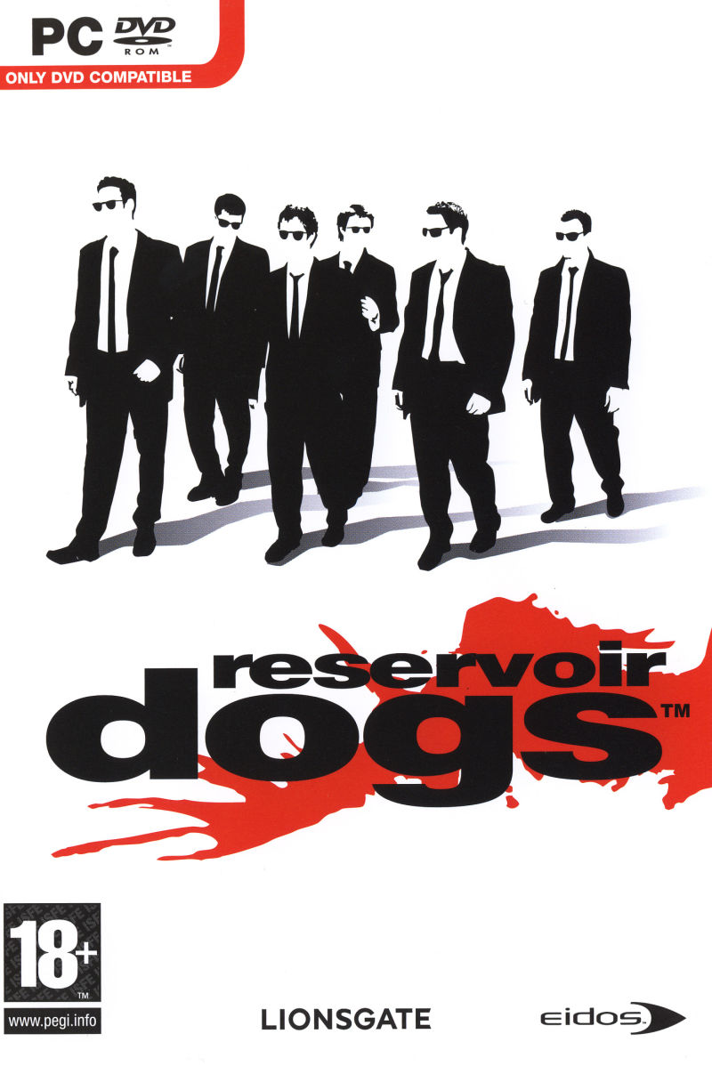 Reservoir Dogs Windows Front Cover