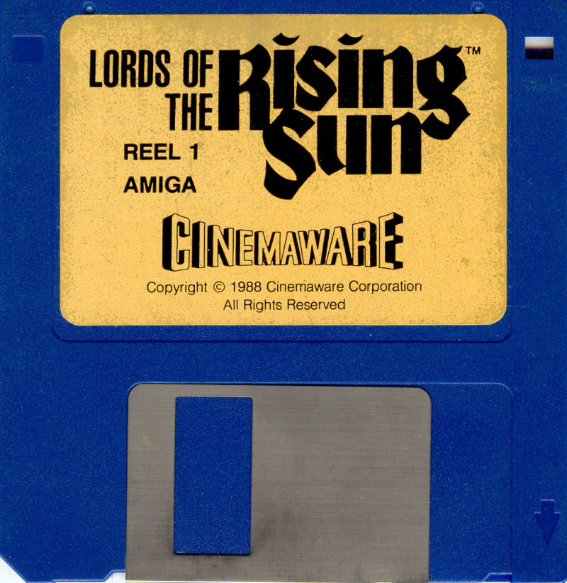 Lords of the Rising Sun Amiga Media Disk 1/2