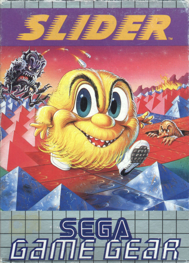 Skweek Game Gear Front Cover