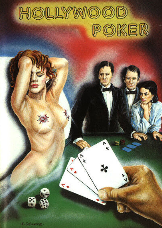 Hollywood Poker Commodore 64 Front Cover
