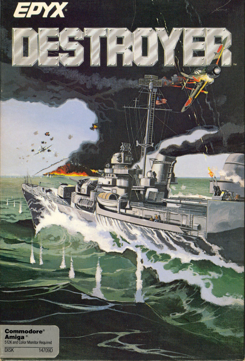 Destroyer Amiga Front Cover