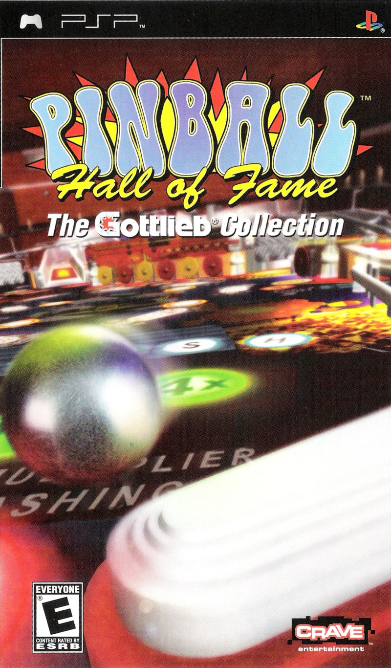Pinball Hall of Fame: The Gottlieb Collection PSP Front Cover