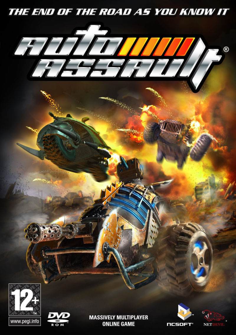 Auto Assault Windows Front Cover Promotional cover art released on 6th April 2006