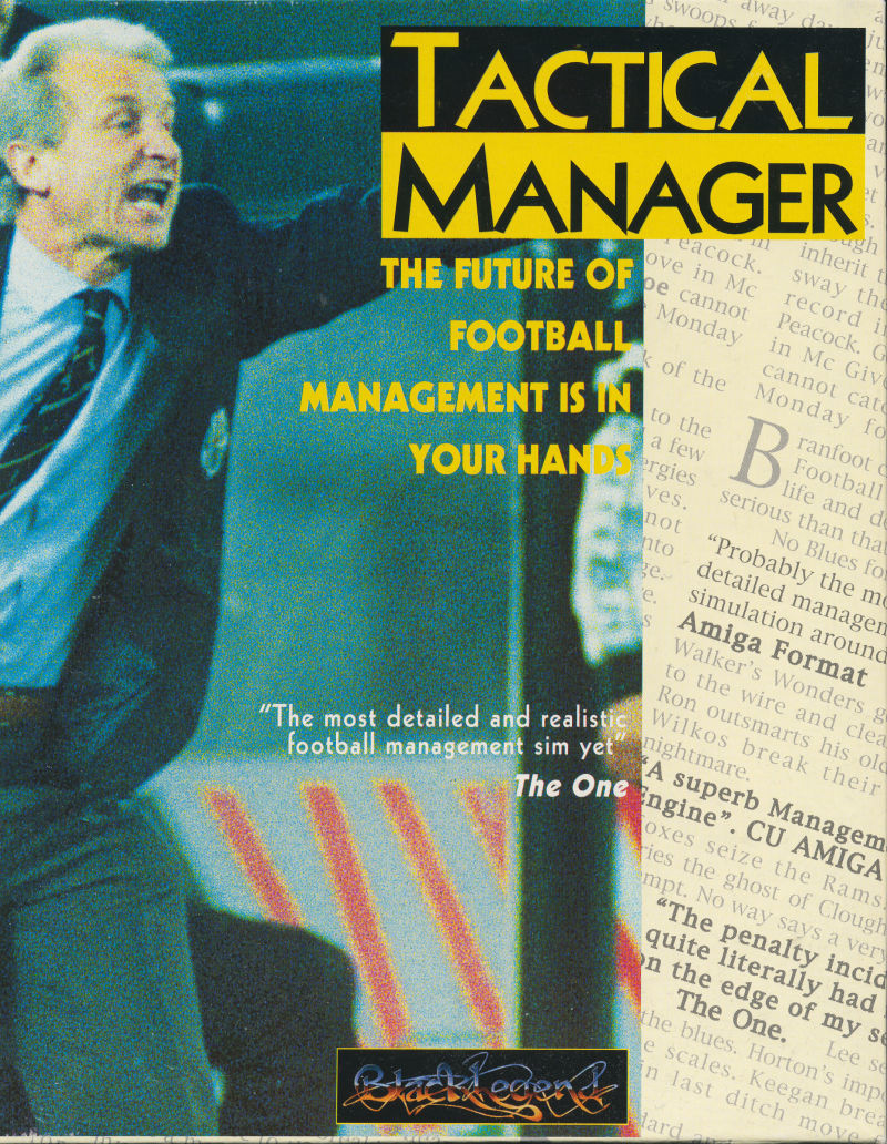 Tactical Manager DOS Front Cover