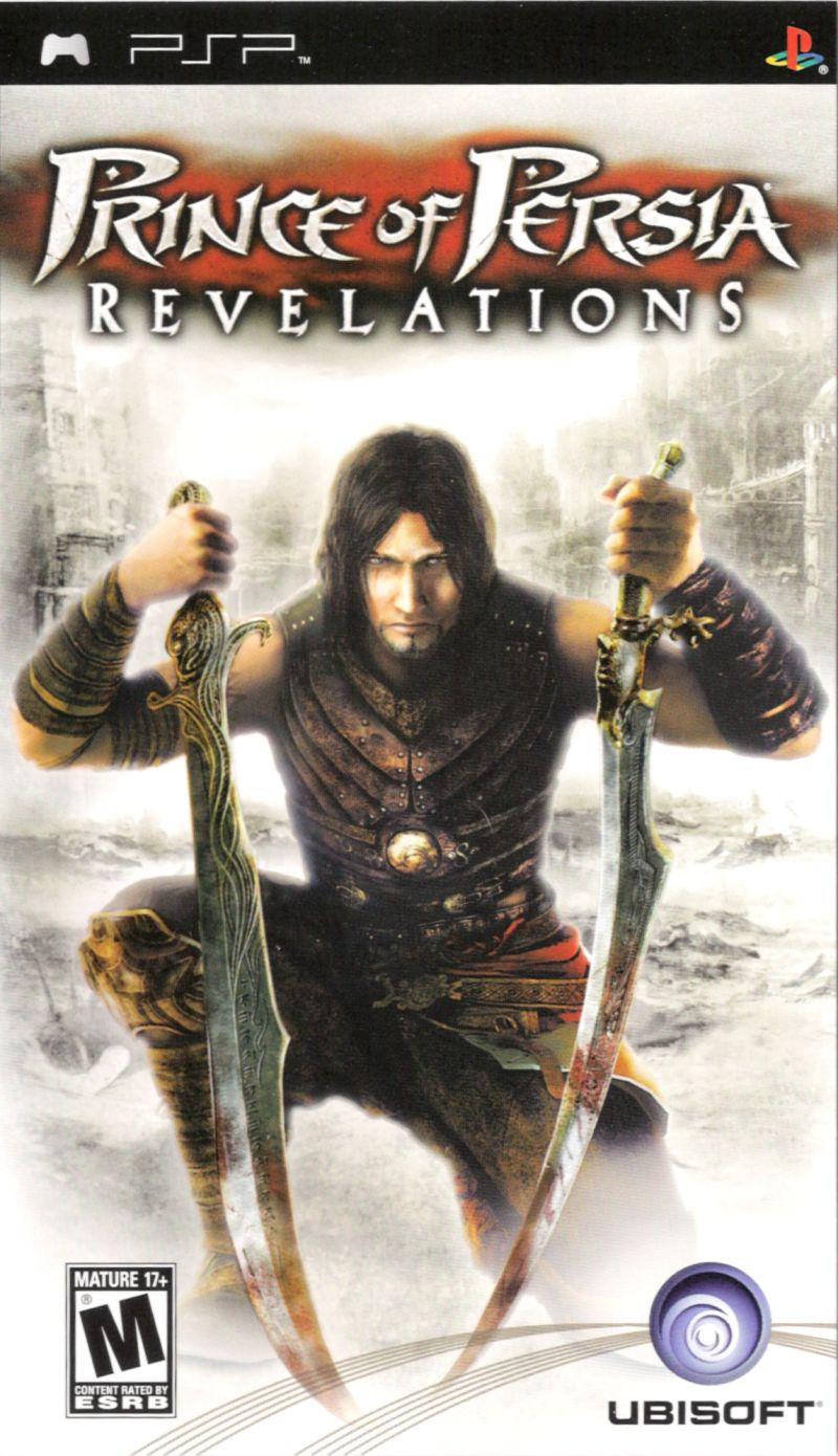Prince of Persia: Revelations PSP Front Cover