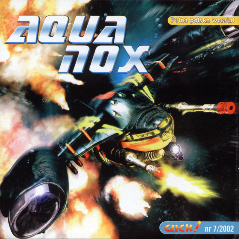 AquaNox Windows Front Cover
