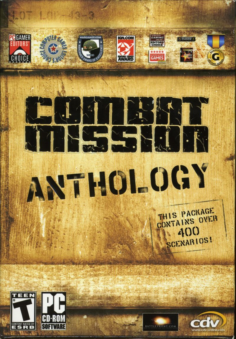 Combat Mission Anthology Windows Front Cover