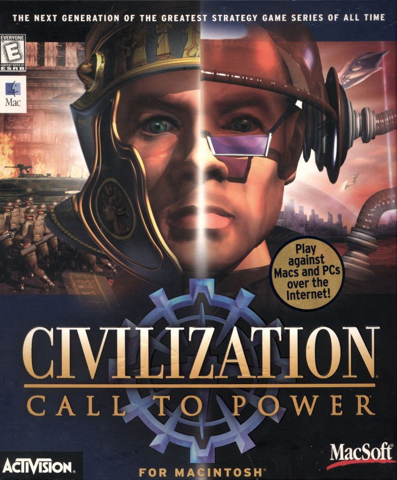 Civilization: Call to Power Macintosh Front Cover