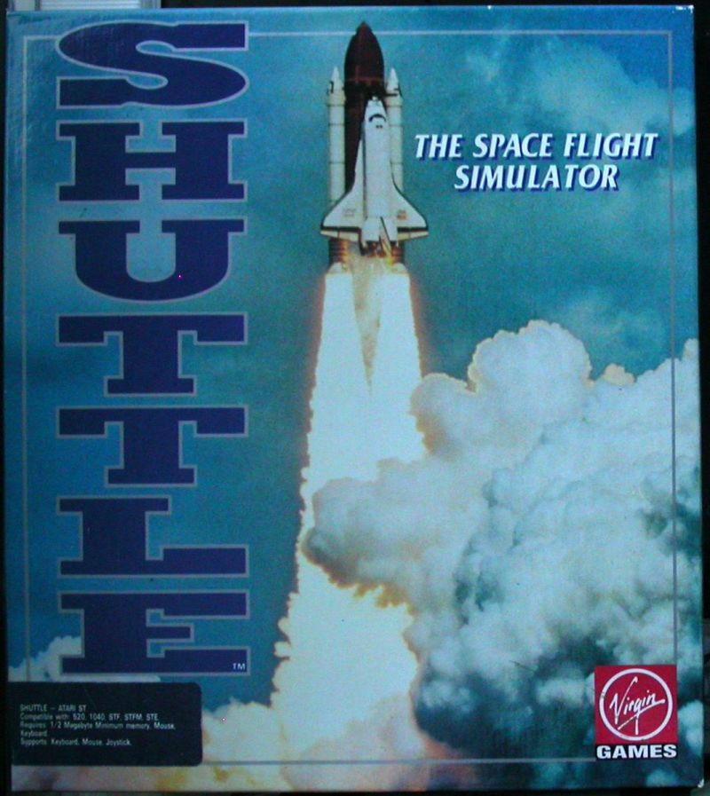 Shuttle: The Space Flight Simulator Atari ST Front Cover