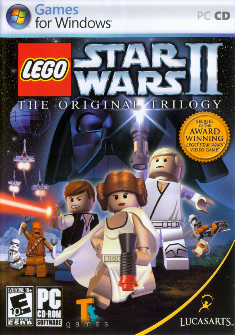 LEGO Star Wars II: The Original Trilogy Windows Front Cover