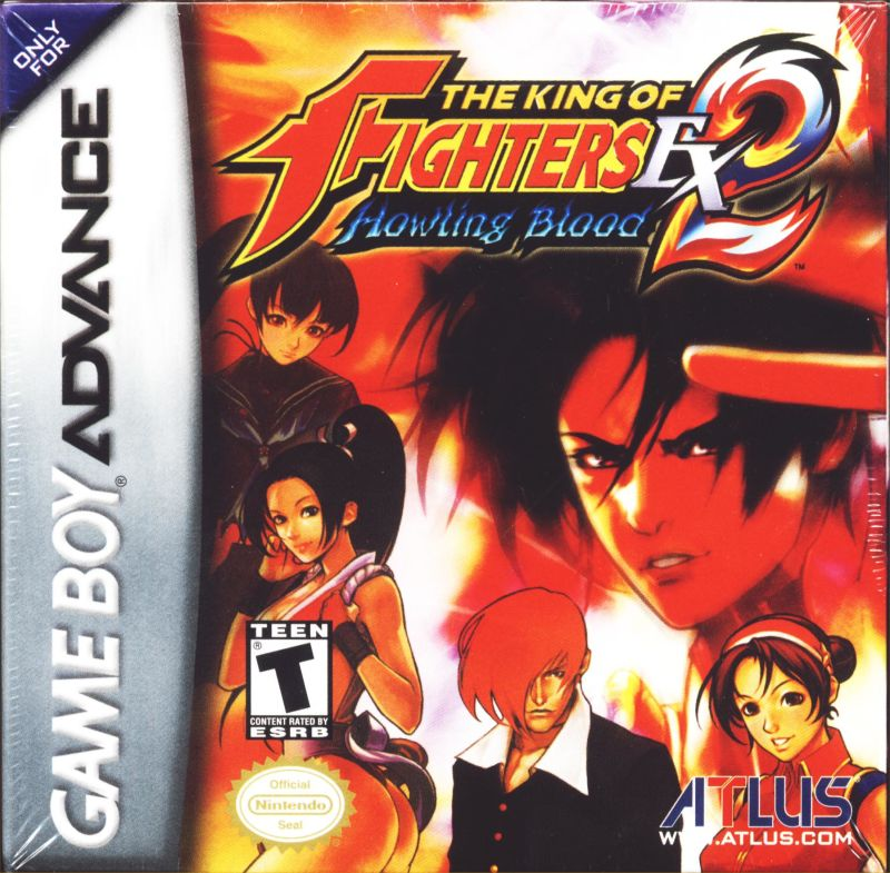 The King of Fighters EX2: Howling Blood Game Boy Advance Front Cover